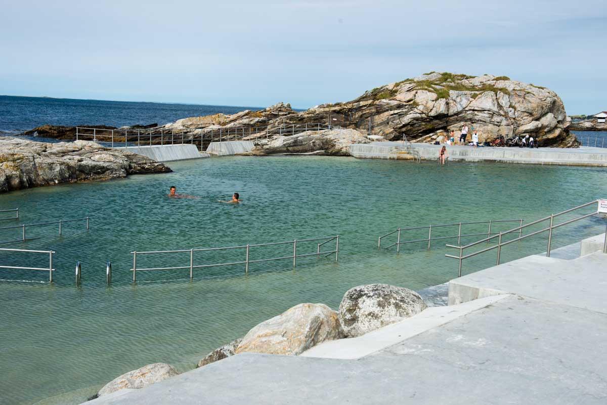 Sjøbadet, Myklebust, Tanager